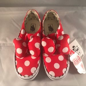 Vans Size 2.5K Minnie's Bow Authentic